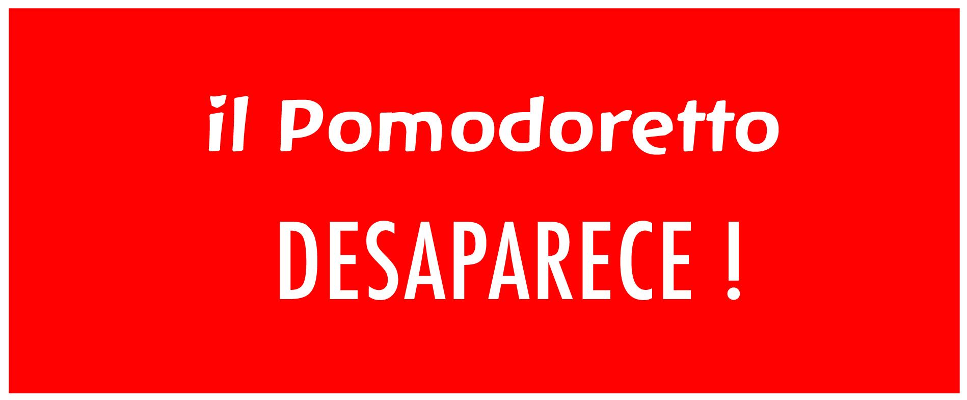 il Pomodoretto se despide.!
