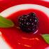 Panna cotta a los frutos rojos