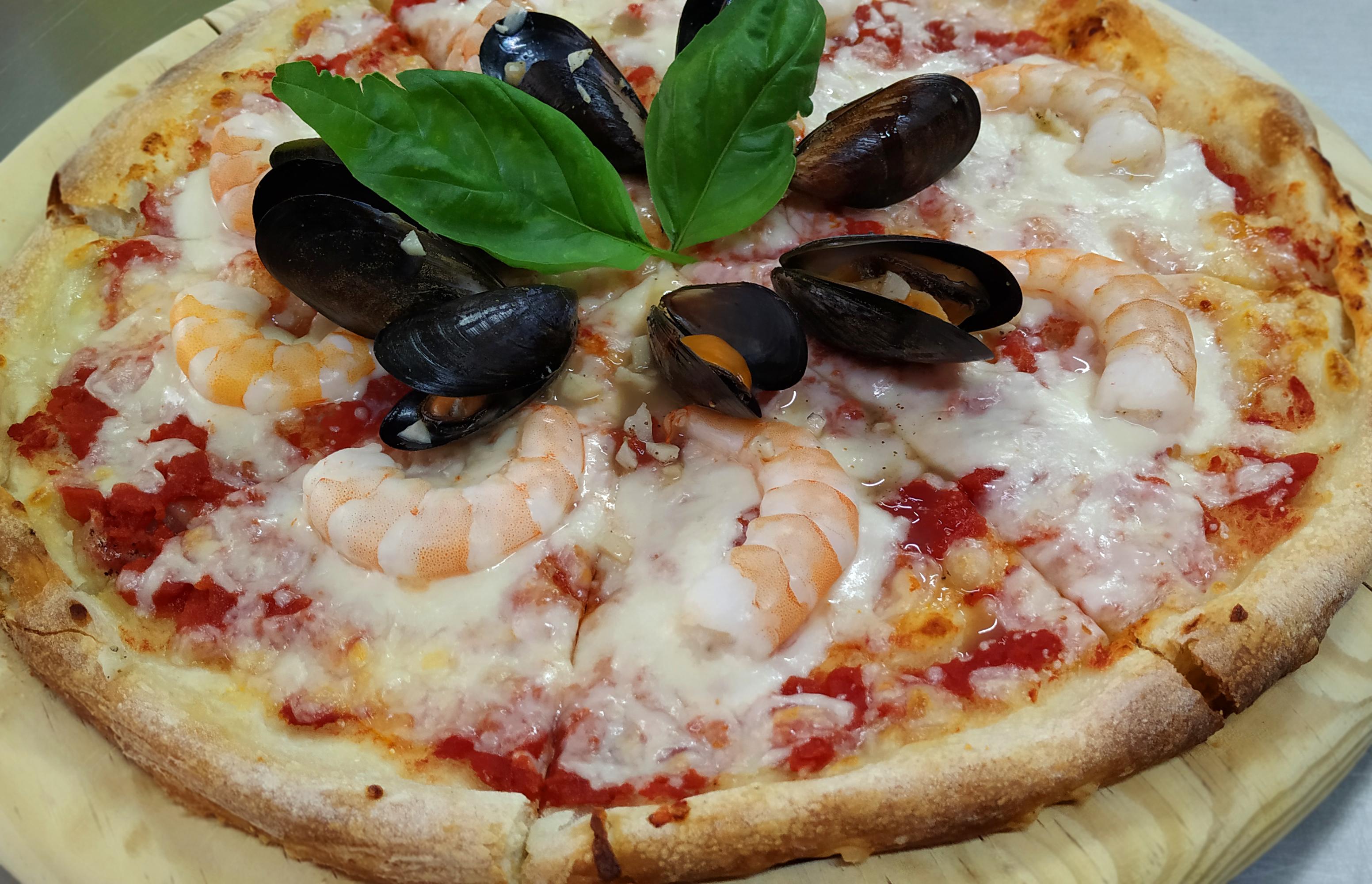 Pizza artesanal Altamente digerible